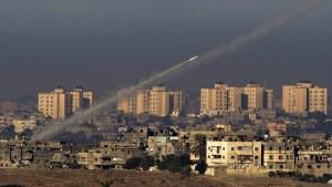 Cohetes desde Gaza