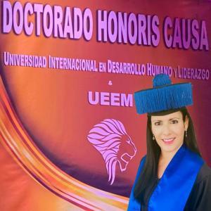 En marzo de 2021 Nadia Cattan recibe el Doctor Honoris Causa por parte de la Universidad Internacional de desarrollo humano y liderazgo