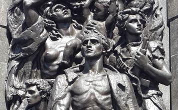 monumento al levantamiento del gueto de Varsovia