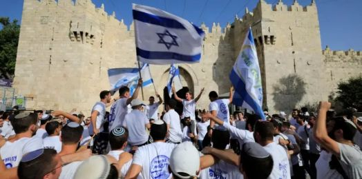 Oficiales de seguridad israelíes piden restringir Yom Yerushalaim, en medio de crecientes tensiones