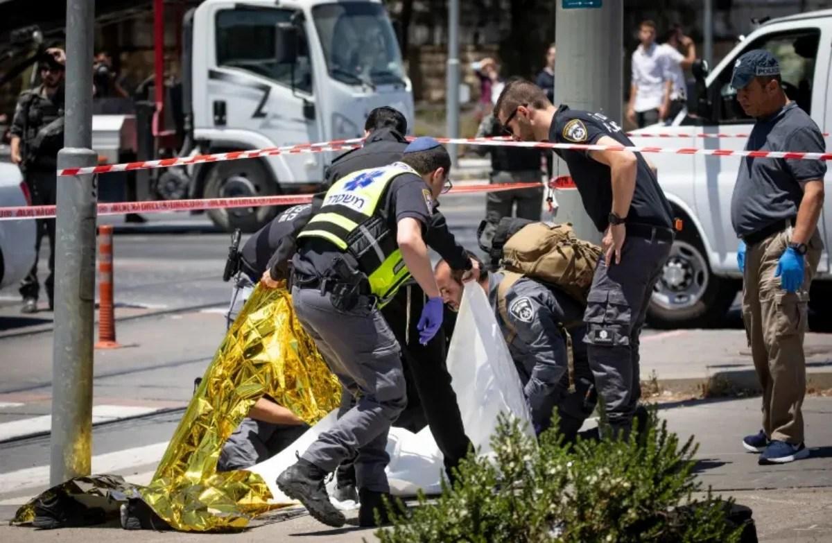 Ataque con arma blanca en Jerusalén