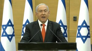 Primer ministro de Israel, Benjamín Netanyahu-Jerusalén