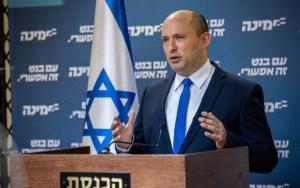 Naftali Bennett, líder de Yamina