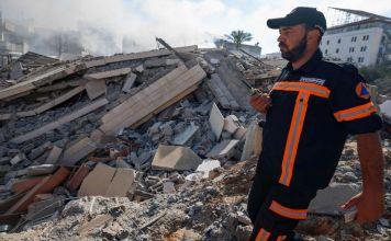 Destrucción en la Franja de Gaza