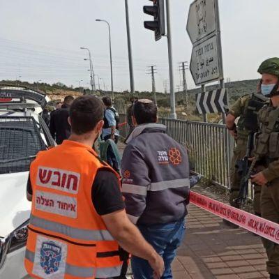 FDI: intento de apuñalamiento en Samaria, sospechoso sometido