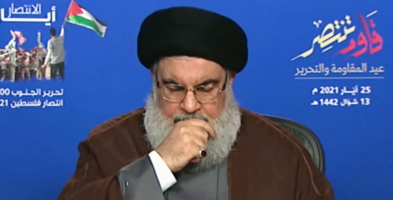 Hassan Nasrallah, líder de Hezbolá