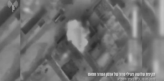 VIDEO: Israel elimina a 3 terroristas de Hamás en Gaza tras cohetes