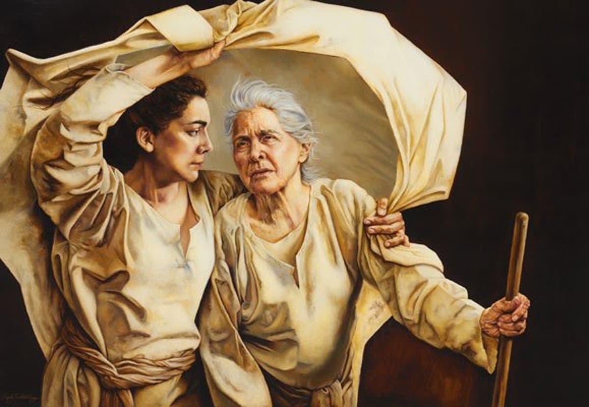 amor filial y materno entre Rut y Naomi