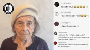 """Lily Ebert deseó """"Shabat Shalom"""" y su cuenta de TikTok se llenó de mensajes de odio, muchos la responsabilizaban del conflicto entre Israel y Hamás"""