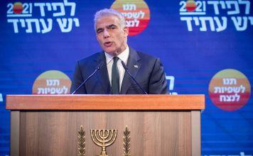 Yair Lapid, lider del partido israelí Yesh Atid