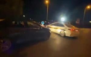 Judíos golpean a conductor árabe