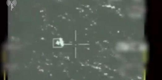 VIDEO: Así destruyó Israel dron explosivo de Hamás lanzado a su territorio