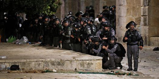 Enfrentamientos en el Monte del Templo dejan heridos a 178 palestinos y 6 policías israelíes