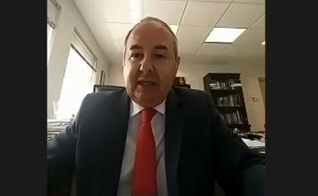 El Embajador de Israel en México, Zvi Tal