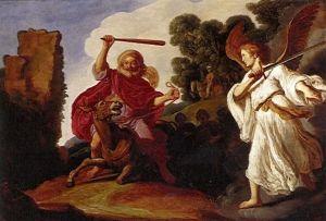 Nuestros rabinos señalan que Bil'am recibió una lección de humildad de quien menos imaginaba: de su burra.