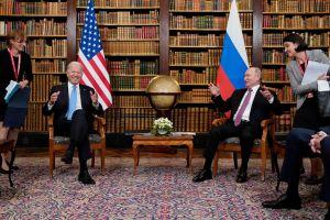 La histórica reunión en una cumbre en Ginebra, entre el presidente Vladimir Putin y su homologo Joe Biden se realizó este miércoles