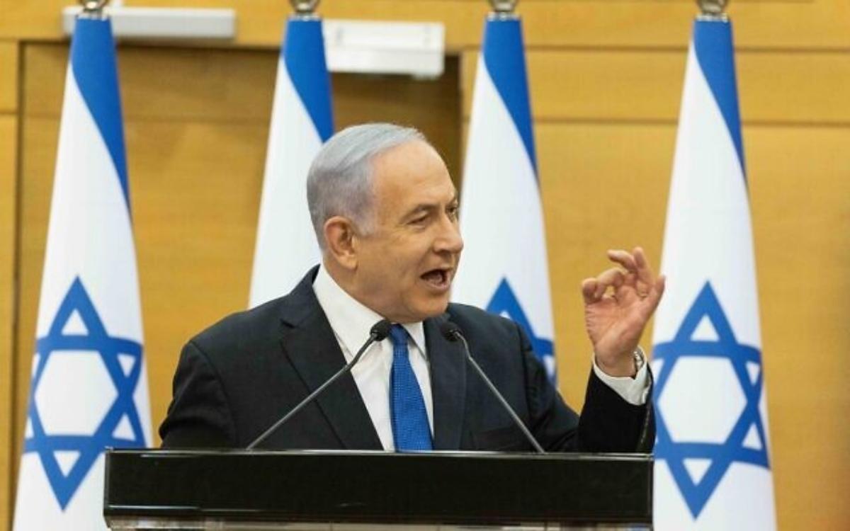 Primer ministro de Israel, Benjamín Netanyahu-incitación