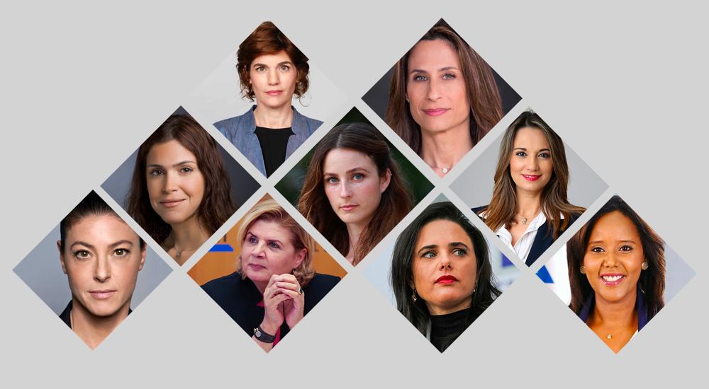 Mujeres del gobierno de Israel