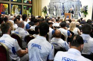 El presidente de Israel Reuven Rivlin se reunió con atletas israelíes que participarán en Juegos Olímpicos y Paralímpicos de Tokio 2020