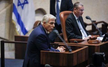 Discurso del líder de Yesh Atid, Yair Lapid