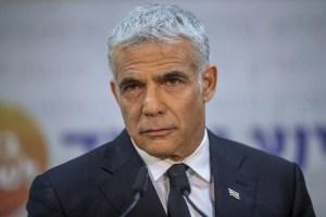 Yair Lapid, jefe de Yesh Atid