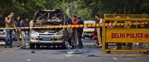 La policía de India arrestó a cuatro hombres sospechosos de estar involucrados en el intento de bombardear la embajada israelí en enero