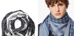 Louis Vuitton retira bufanda palestina con colores de la bandera de Israel tras reacción violenta en redes que acusan de apropiación cultural