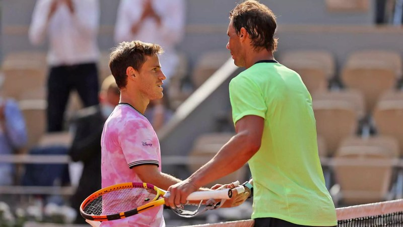 El tenista judío argentino Diego Schwartzman fue derrotado por Rafael Nadal en cuartos de final del torneo Roland Garros este miércoles