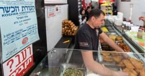 Certificación de kashrut a negocios en Israel