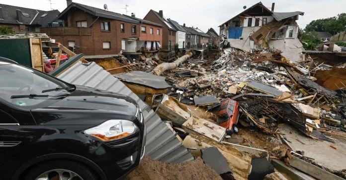 Los daños dejados por las inundaciones aún no han podido cuantificarse.