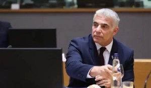 Canciller israelí Yair Lapid-Unión Europea