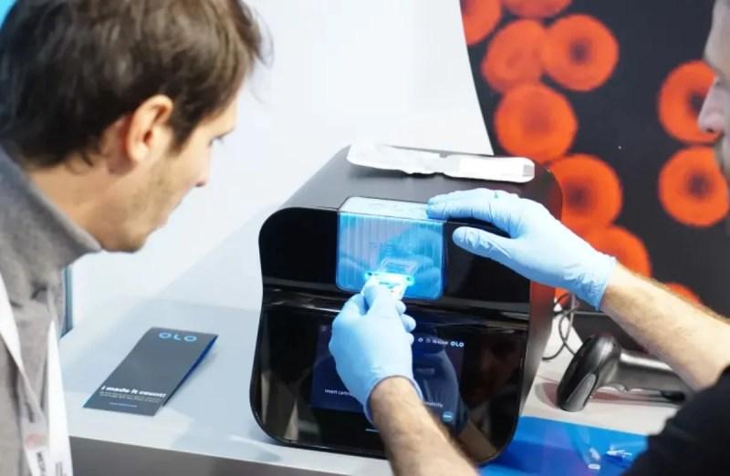Dispositivo de Sight Diagnostics para análisis de sangre