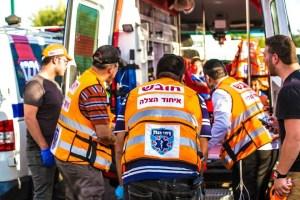 Paramédicos judíos y musulmanes de United Hatzalah llegaron a salvar a una mujer en Jerusalén Este en menos de tres minutos