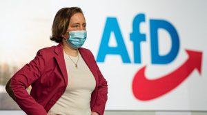 La legisladora alemana Beatrix von Storch Recibida por Jair Bolsonaro esta semana