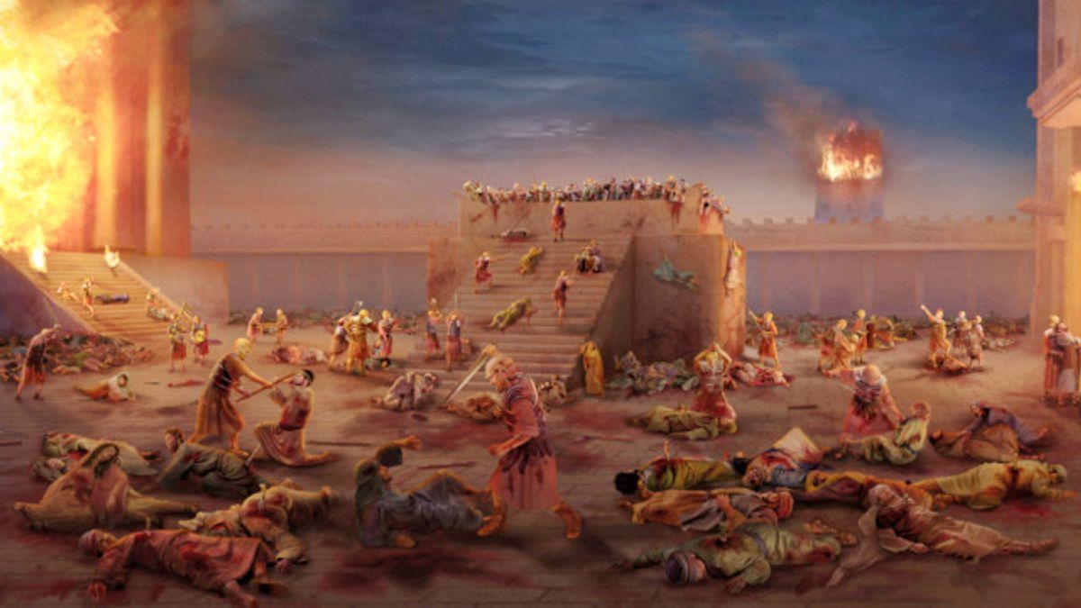 Ribbí Yehoshua y los Sabios, encontraron el delicado balance entre el duelo que debemos guardar por el Bet-haMiqdash y una vida lo más normal y feliz posible
