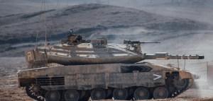 tanque de las FDI