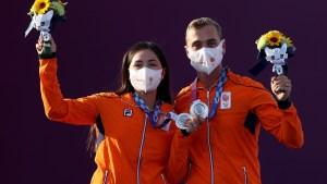 La mexicana Gabriela Schloesser-Bayardo ganó medalla de plata en tiro con arco de los Juegos Olímpicos de Tokio, sin embargo la medalla fue para Holanda
