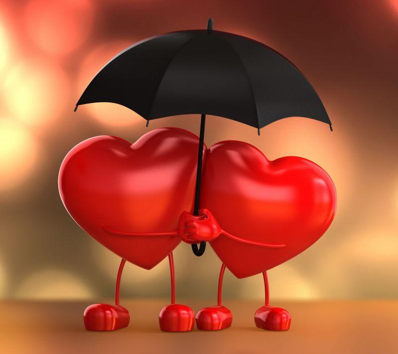 Tu B'Av. corazones