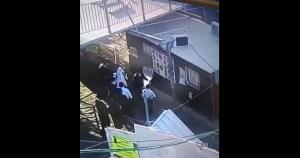 Captura de pantalla de video de cámara de seguridad