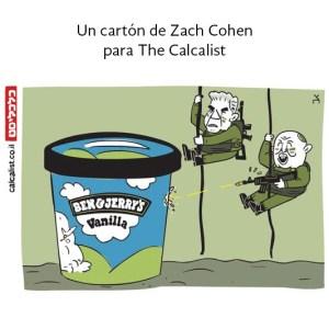 Bennett y Lapid bajan con metralletas para defender a Israel contra la mnueva amenaza: los helados Ben & Jerry's