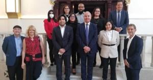 Este 21 de agosto, el Embajador de Israel en México Zvi Tal, realizó una visita al Centro de documentación e investigación judío de México, CDIJUM