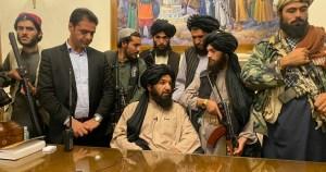 Caída de Kabul en manos de los talibanes