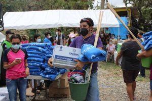 El pasado 27 de agosto un equipo de Cadena asistió a afectados en Poza Riza y Papantla Veracruz y este fin de semana se entregará mas ayuda