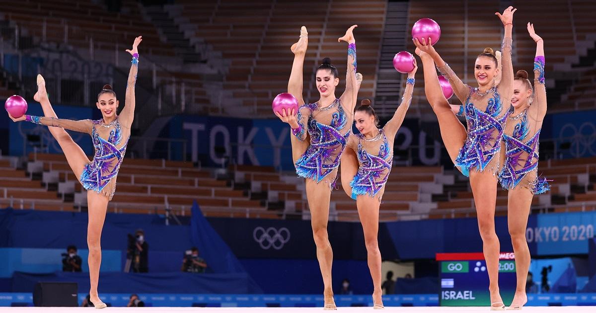 Equipo israelí de gimnasia rítmica
