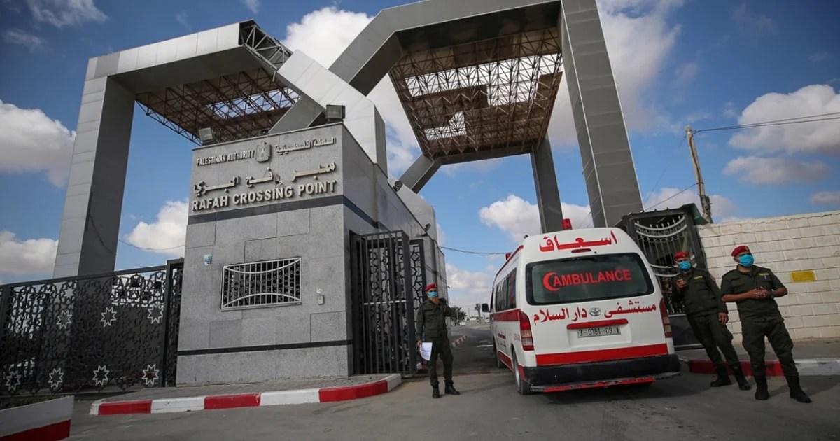 Cruce de Rafah en Gaza