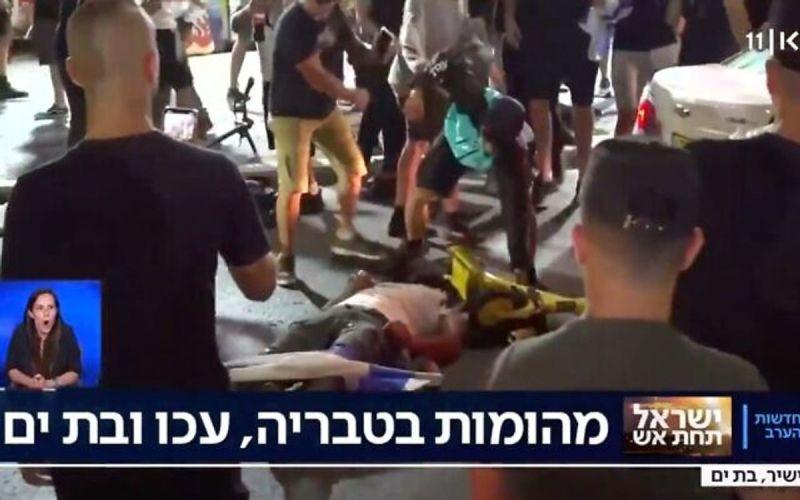La policía arrestó a tres sospechosos más en la brutal paliza que la turba propinó a un árabe israelí en Bat Yam en mayo
