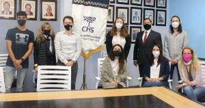 Reciben a Ori Borax y Adi Shadur, miembros del proyecto Shinshinim en el Colegio Hebreo Sefaradí y el Centro Deportivo Israelita