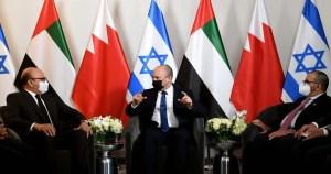 Primer ministro de Israel, Naftali Bennett se reúne con cancilleres de Emiratos y Baréin