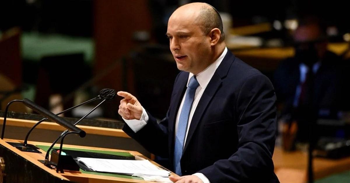 Naftali Bennett en la ONU