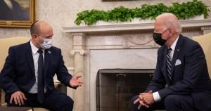 Naftali Bennett y Joe Biden